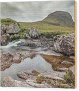 Russell Burn - Scotland Wood Print