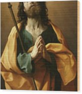 Saint James The Greater, Wood Print