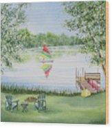 4 Seasons-summer Wood Print
