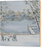 4 Seasons-winter Wood Print