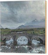 Sligachan - Isle Of Skye Wood Print