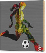 Soccer Collection Wood Print