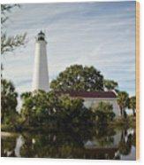 St Marks Lighthouse Wood Print