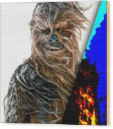 Star Wars Chewbacca Collection Wood Print
