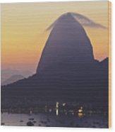 Sugarloaf Mountain, Rio De Janeiro, Brazil Wood Print