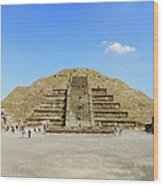 The Famous Pyramid Of The Moon Wood Print