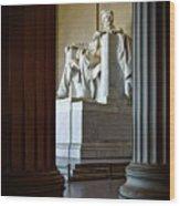 The Lincoln Memorial Wood Print