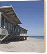 The Ocean Grill At Vero Beach In Florida Wood Print