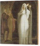 The Sleepwalking Scene Act V Scene I From Macbeth Henry Pierce Bone Wood Print