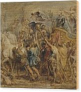 The Triumph Of Henry Iv Wood Print