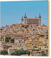 Toledo, Spain Wood Print