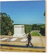 Tomb Of The Unknowns Wood Print