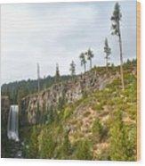 Tumalo Falls Wood Print