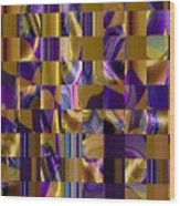 4 U 101 Wood Print