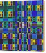 4 U 156 Wood Print