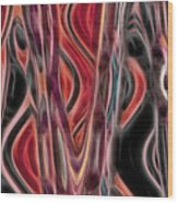 4 U 24 Wood Print