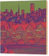 4 U 286 Wood Print