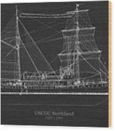 U.s. Coast Guard Cutter Northland Wood Print