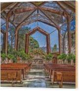 Wayfarers Chapel Wood Print