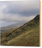 Welsh Mountains Wood Print