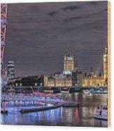 Westminster - London Wood Print
