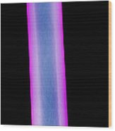 X-ray Of Human Femur Wood Print