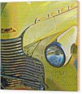 '40 Chevy Wood Print