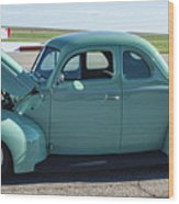 40 Ford Deluxe Wood Print