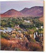 Landscape D Cc Wood Print