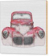 40 Willys Wood Print