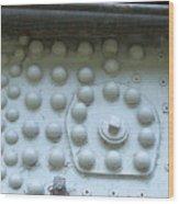 4004 Rivets Wood Print