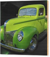 40s Ford Wood Print