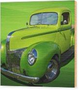 40s Ford Pickup Wood Print