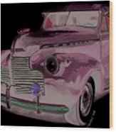 41 Chevy Wood Print
