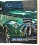 41 Chevy Truck Wood Print