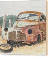 '41 Fleetline Wood Print
