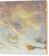 Summer Sky 1 Wood Print