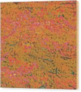 4139 Flaming Maple Wood Print