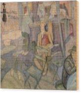 41628 Carlos Saenz De Tejada Wood Print