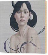 424 Wood Print