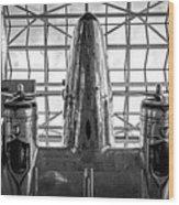 4242- Airplane Wood Print