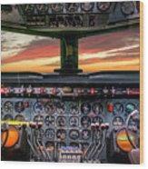 4245- Cockpit Wood Print