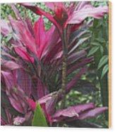 4339- Flower Wood Print