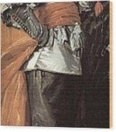 43meagr3 Frans Hals Wood Print