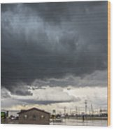 7th Storm Chase 2015 Wood Print