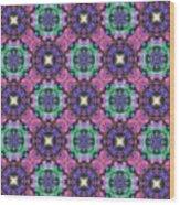 Arabesque 081 Wood Print
