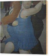 Bogota Museo Botero Wood Print