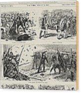 Great Railroad Strike, 1877 Wood Print