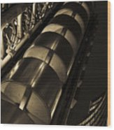 Lloyd's Building London  Wood Print