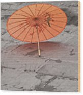 4440- Umbrella Wood Print